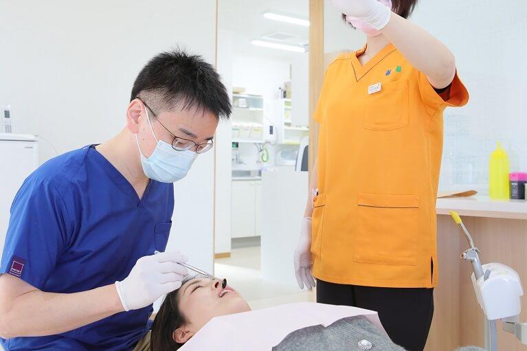 奥歯の銀歯が気になる・奥歯に白い歯を入れたい