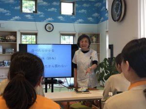 院内セミナー 上間 京子 先生をお招きして。
